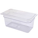 Carlisle StorPlus 1/3-Size Clear Food Pan 7\x22 x 12-3/4\x22 x 2-1/2\x22 Deep