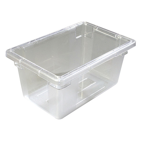 "Carlisle StorPlus 5-Gallon Clear Food Storage Box 18"" x 12"" x 9"""