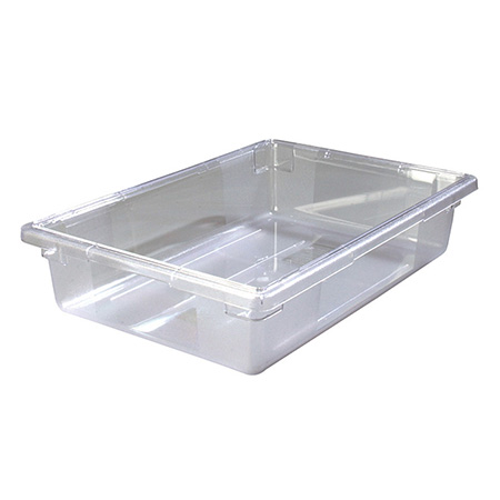 "Carlisle StorPlus 8-1/2-Gallon Clear Food Storage Box 26"" x 18"" x 6"""