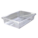 Carlisle StorPlus 12-1/2-Gallon Clear Food Storage Box 26\x22 x 18\x22 x 9\x22