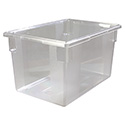 Carlisle StorPlus 21-1/2-Gallon Clear Food Storage Box 26\x22 x 18\x22 x 15\x22
