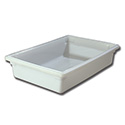 Carlisle StorPlus 8-1/2-Gallon White Food Storage Box 26\x22 x 18\x22 x 6\x22