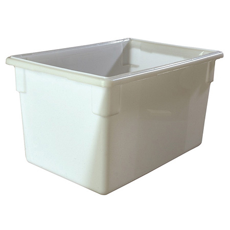 "Carlisle StorPlus 21-1/2-Gallon White Food Storage Box 26"" x 18"" x 15"""