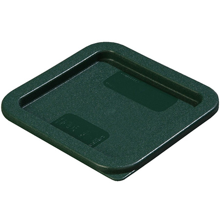 Lid for Carlisle StorPlus 2 or 4-Quart Square Stackable Food Storage Container