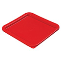 Lid for Carlisle StorPlus 6 or 8-Quart Square Stackable Food Storage Container