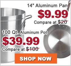 Aluminum Pan and Pot