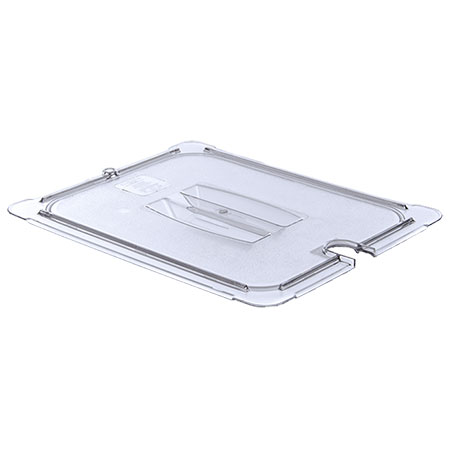 Slotted Cover for Carlisle StorPlus 1/2-Size Clear Food Pan