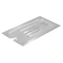 Slotted Cover for Carlisle StorPlus Full Size Clear Food Pan