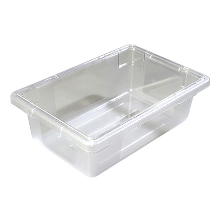 "Carlisle StorPlus 3.5-Gallon Clear Food Storage Box 18"" x 12"" x 6"""