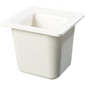 Carlisle Coldmaster 1/6-Size Food Pan 6\x22 Deep