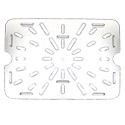 False Bottom for Carlisle StorPlus 1/2-Size Clear Food Pan