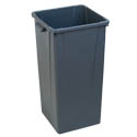 Carlisle Centurian 23-Gallon Gray Trash Container