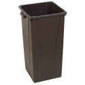 Carlisle Centurian 23-Gallon Brown Trash Container