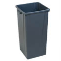 Carlisle Centurian 35-Gallon Gray Trash Container