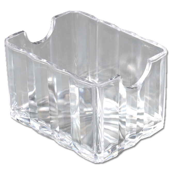 One Compartment Clear Crystalite Sugar Caddy