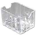 Carlisle Clear Crystalite Sugar Packet Caddy