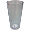 Carlisle 12 oz. Stackable Clear Poly Tumbler
