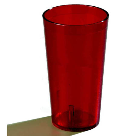 LaSalle Manor 20 oz. Stackable Red Poly Tumbler