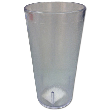 Carlisle 8 oz. Stackable Clear Poly Tumbler
