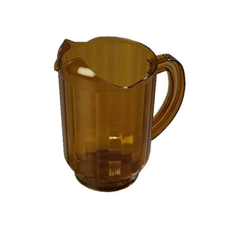60 oz. Amber Poly Beverage Pitcher
