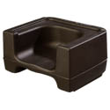 Carlisle Black Dual Height Booster Seat
