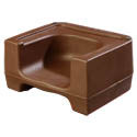 Carlisle Brown Dual Height Booster Seat