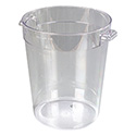 Carlisle StorPlus 8-Quart Clear Round Food Storage Container 11\x22H