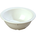 Carlisle 14 oz. White Melamine Nappie Bowl