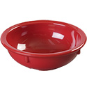 Carlisle 10 oz. Red Melamine Nappie Bowl