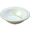 Carlisle 4.75 oz. White Melamine Rimmed Fruit Bowl