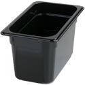Carlisle StorPlus High Heat Black Food Pans & Covers