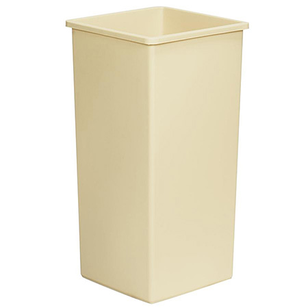 Continental 32-Gallon Swingline Beige Trash Container