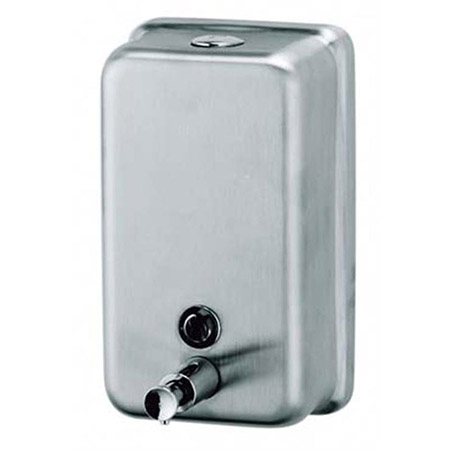40 oz. Liquid Soap Stainless Steel Wall Mount Dispenser