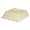 Lid for Continental 25 and 32-Gallon Swingline Beige Trash Container