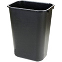 Continental 13-Quart Black Wastebasket