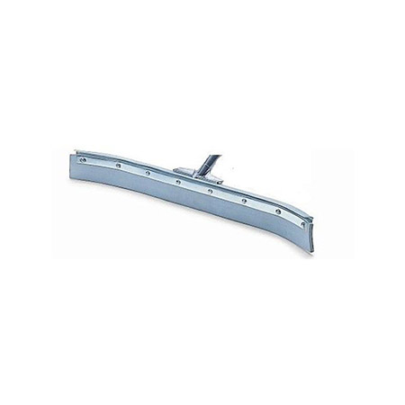 "24"" Metal Plated Floor Squeegee with Rubber Edge"