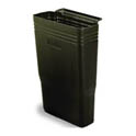 Black Trash Bin for Continental Bus Cart (SKU 215810)