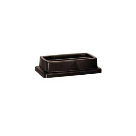 Lid for Continental 23-Gallon Wall Hugger Brown Trash Container