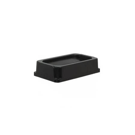Lid for Continental 23-Gallon Wall Hugger Black Trash Container