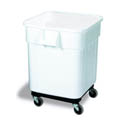 "Continental 32-Gallon Ingredient Bin with Snap Lock Lid 21""W"