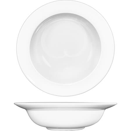 ITI Bristol 32 oz. Bright White Pasta Bowl