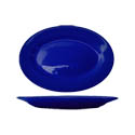 ITI Cancun 12-1/2\x22 Cobalt Blue Rolled Edge Platter