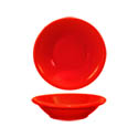 ITI Cancun 4.75 oz. Red Rolled Edge Fruit Bowl