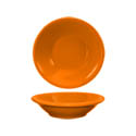 ITI Cancun 4.75 oz. Orange Rolled Edge Fruit Bowl
