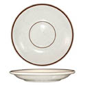 ITI Granada 6\x22 Brown Speckled Saucer