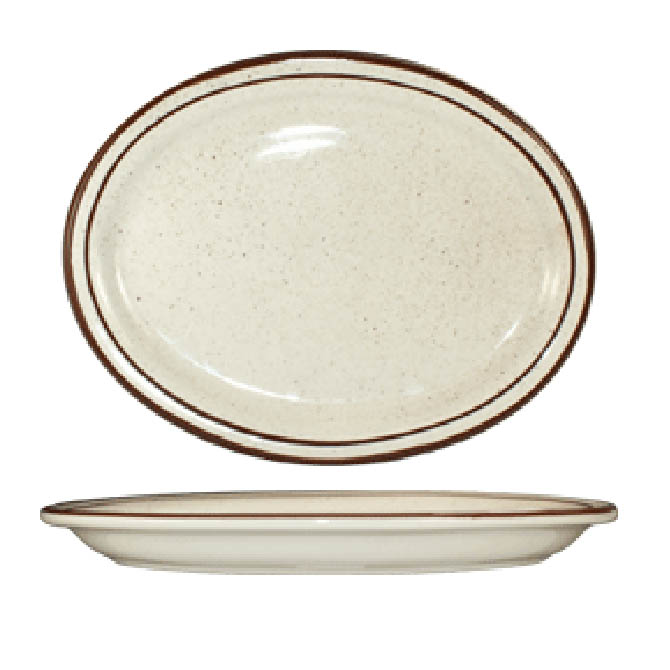 ITI Granada 9-1/2\  Brown Speckled Platter  sc 1 st  Restaurant Equippers : iti dinnerware - pezcame.com