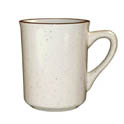 ITI Granada 8.5 oz. Brown Speckled Coffee Mug