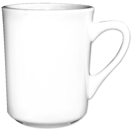ITI 8.5 oz. European White Mug