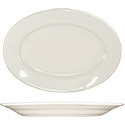 ITI Roma 11-1/2\x22 American White Rolled Edge Platter