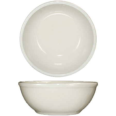 ITI 16 oz. American White Nappie Bowl